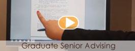 Graduate Senior Advising