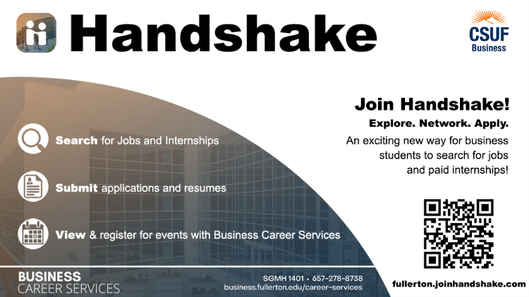 Handshake Informational Flyer