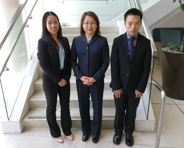 AIC Research Team (Three people)
