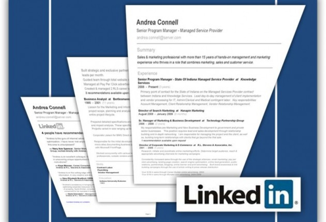10 ways to turn your linkedin profile into a job