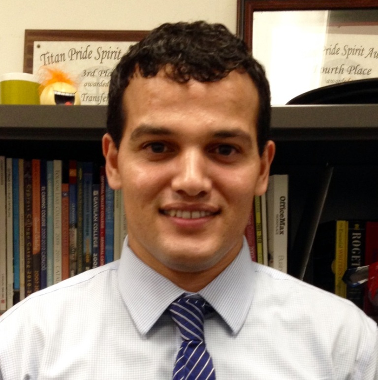 Riyadh al-Riyashi '17, who was elected to the Cal State Fullerton ASI Board of Directors in 2016, to represent Mihaylo College.