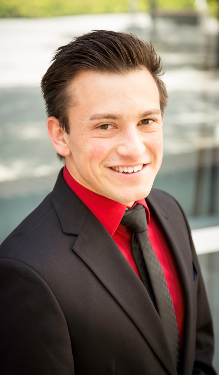 Ben Holguin, a CSUF psychology major, believes involvement in the Sales Leadership Center is central to his career.