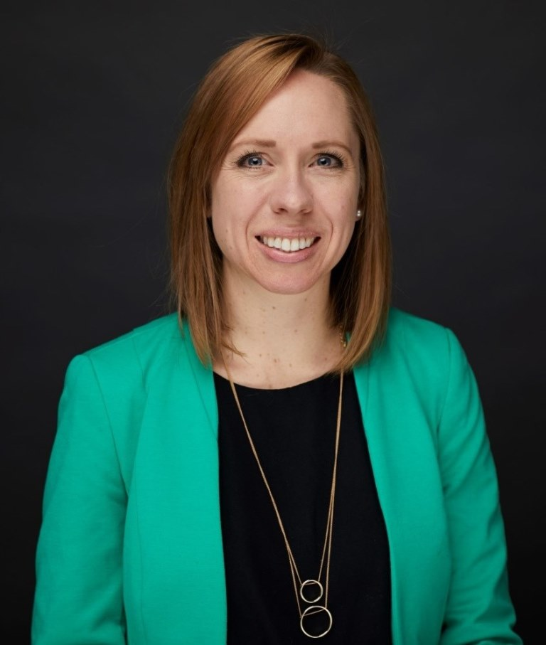 Mihaylo College alumna Amber Deister '03, who has a career in higher education at New York City's Columbia University.