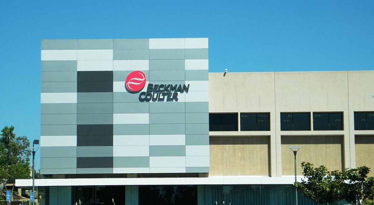 The Brea, California, headquarters of Beckman Coulter, a leader in medical advances over several generations.