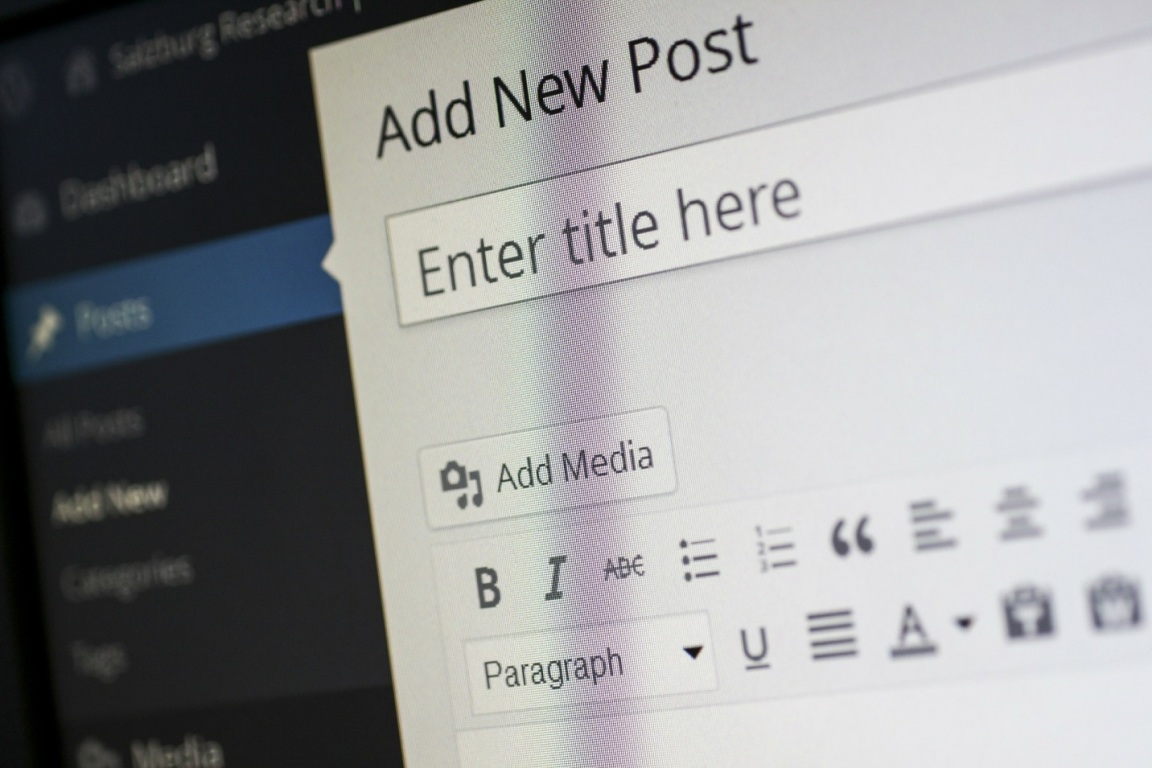 WordPress makes it easy to get your message out through blogging.
