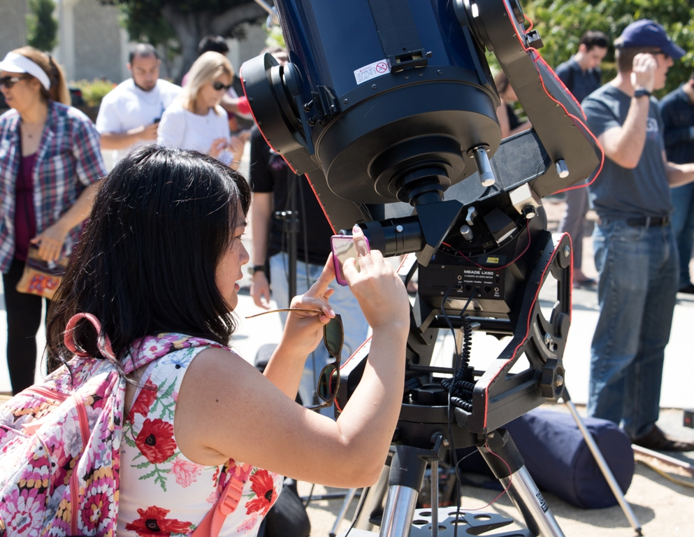 Technology and the Great American Solar Eclipse converge at Cal State Fullerton.