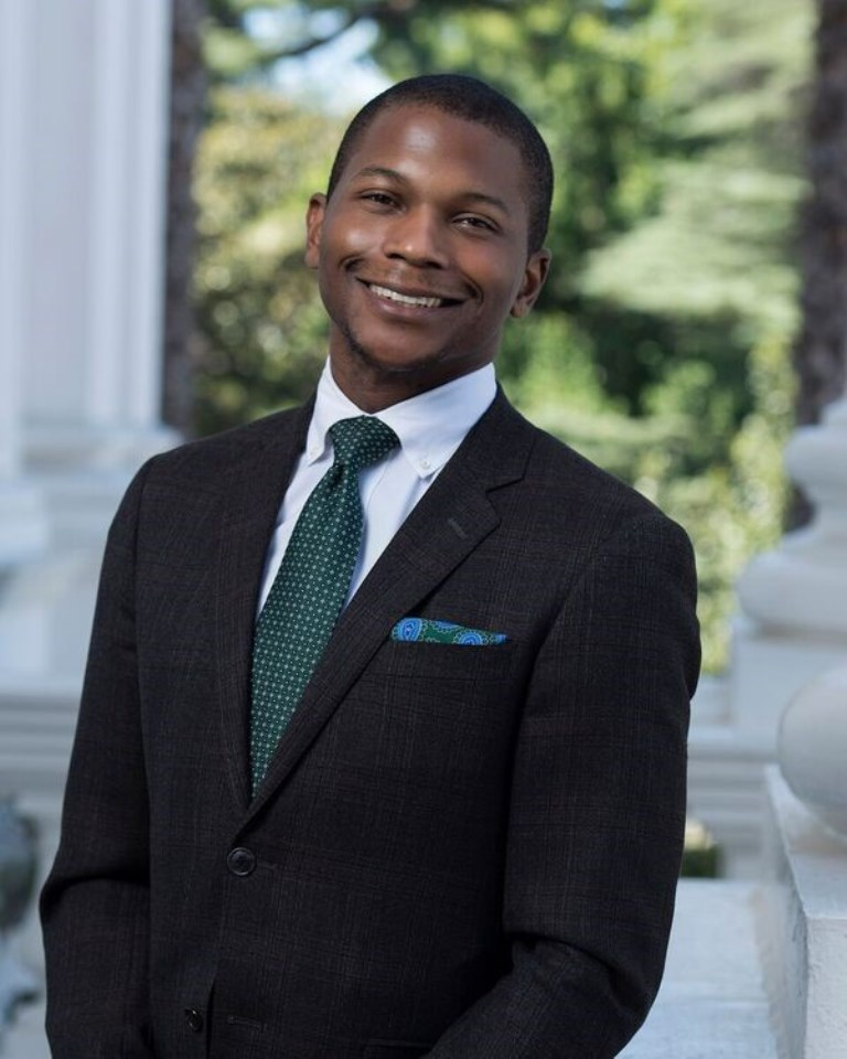Jay Jefferson, a Cal State Fullerton Mihaylo College economics alumnus, is a legislative director for California Assemblyman Mike Gipson in Sacramento.