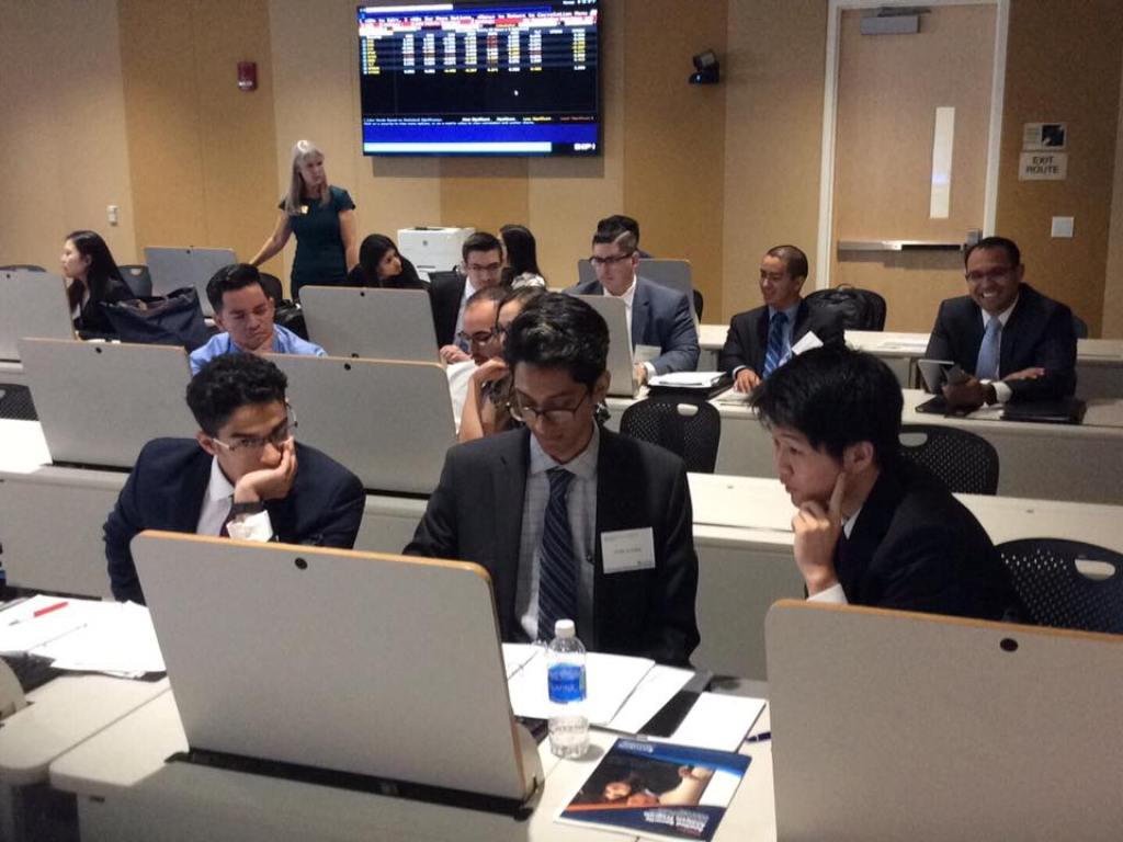 Mihaylo College finance students perfect their investment skills at the Titan Capital Management trading lab.