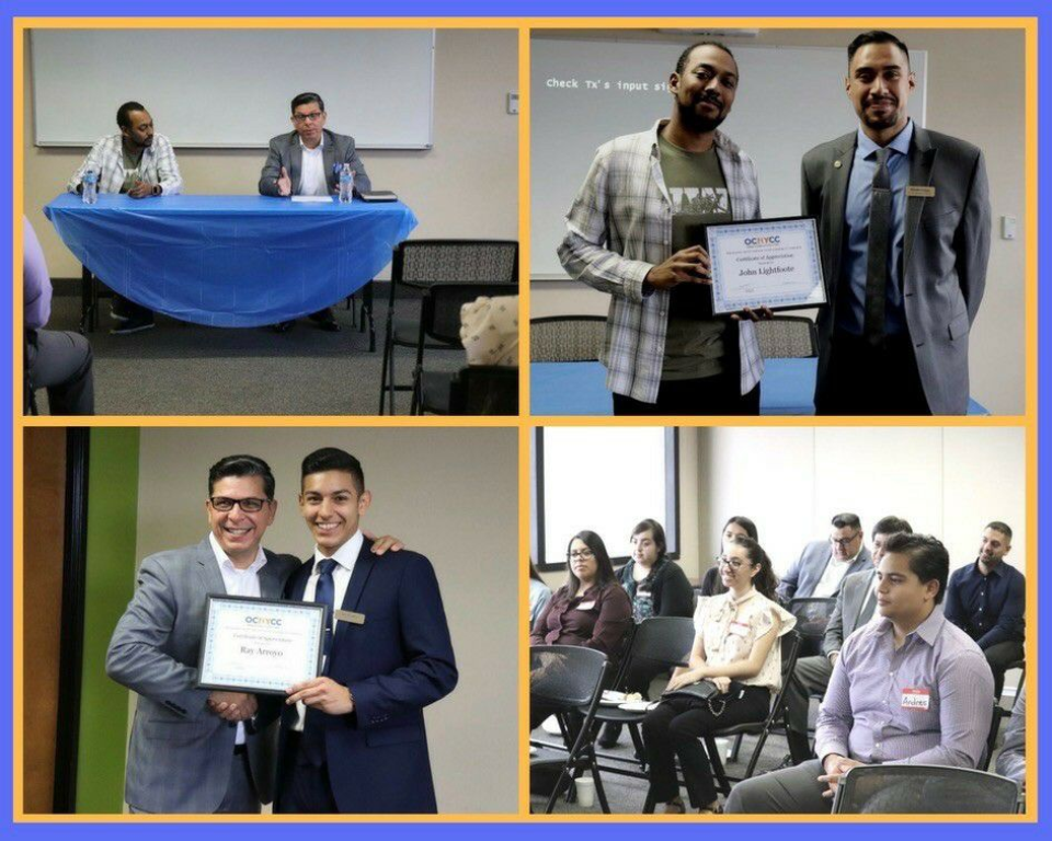 The Orange County Hispanic Youth Chamber of Commerce provides opportunities for career networking and professional development in Orange County, California.