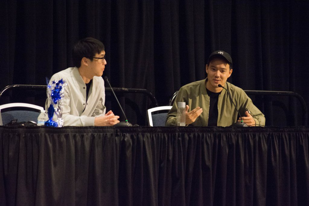 Wong Fu Productions visit Cal State Fullerton campus.
