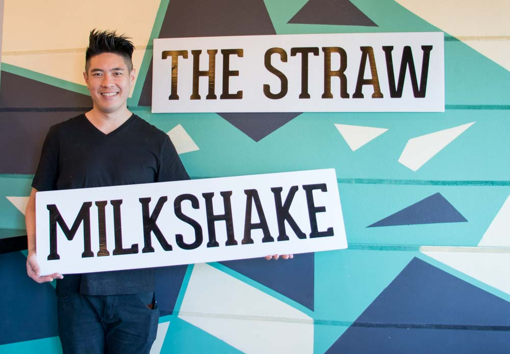 Patrick Nguyen founder of The Straw restaurant