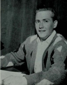 Vic Hausmaninger '64 as a student treasurer of Cal State Fullerton's student government in the 1960s.