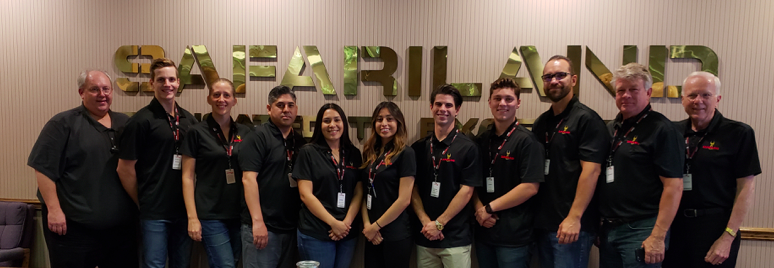 Mihaylo College students interned at The Safariland Group in spring 2018.