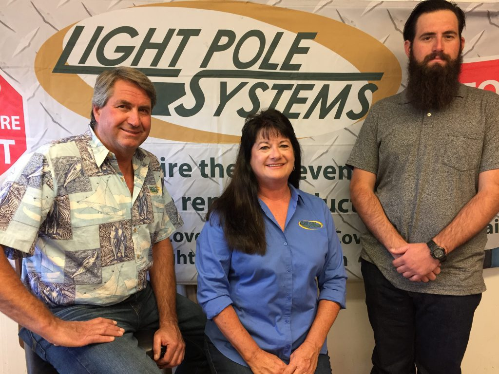 The Magargee family, owners of Light Pole Systems