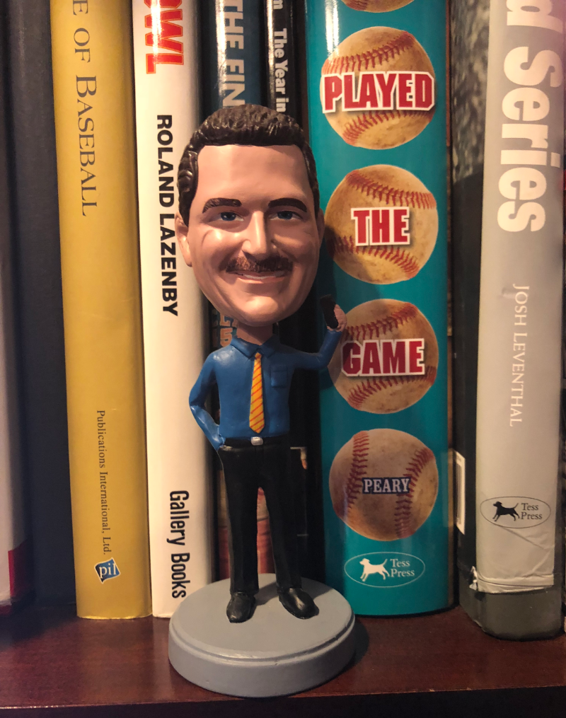 Bobblehead of CSUF Mihaylo College Accounting Lecturer Barry Gershenovitz
