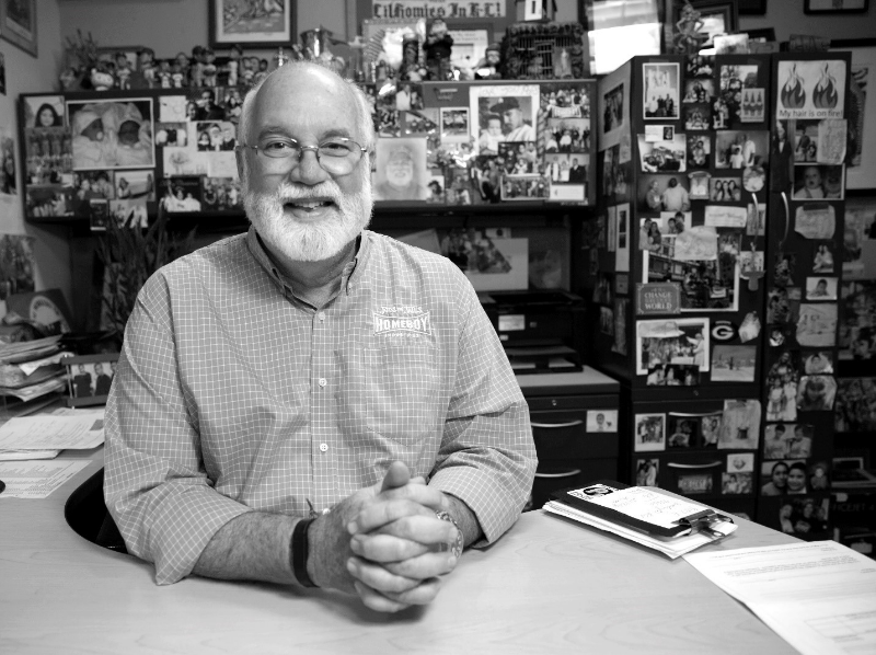 Father Greg Boyle, founder of Los Angeles' Homeboy Industries.
