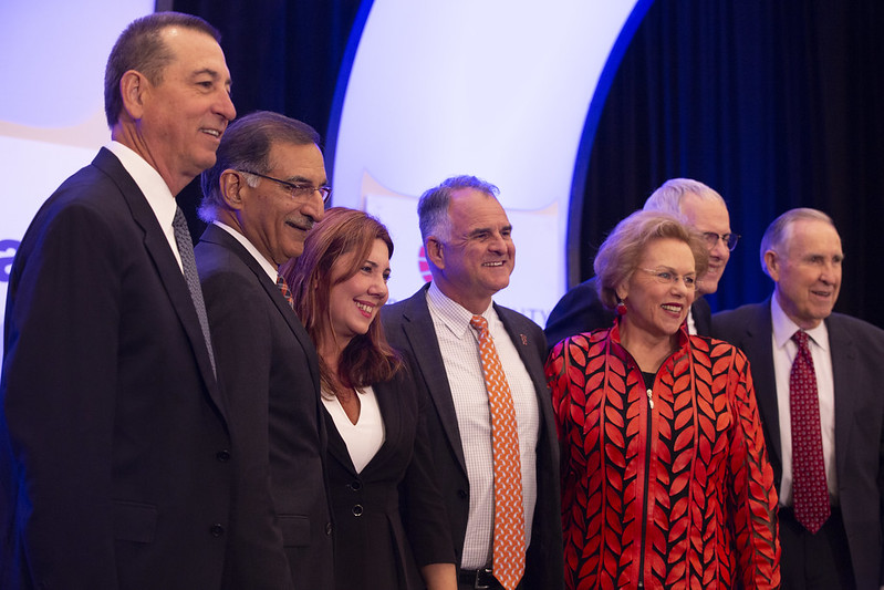 Dignitaries at the 2019 Economic Forecast Conference at the Hotel Irvine