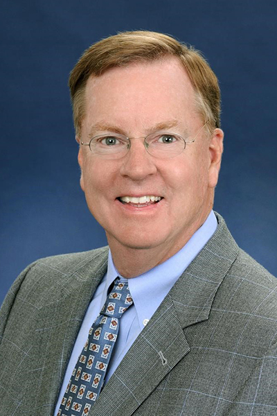 Mike Groff, the retired CEO of Toyota Financial Services and the namesake of the Mike Groff Scholarship.