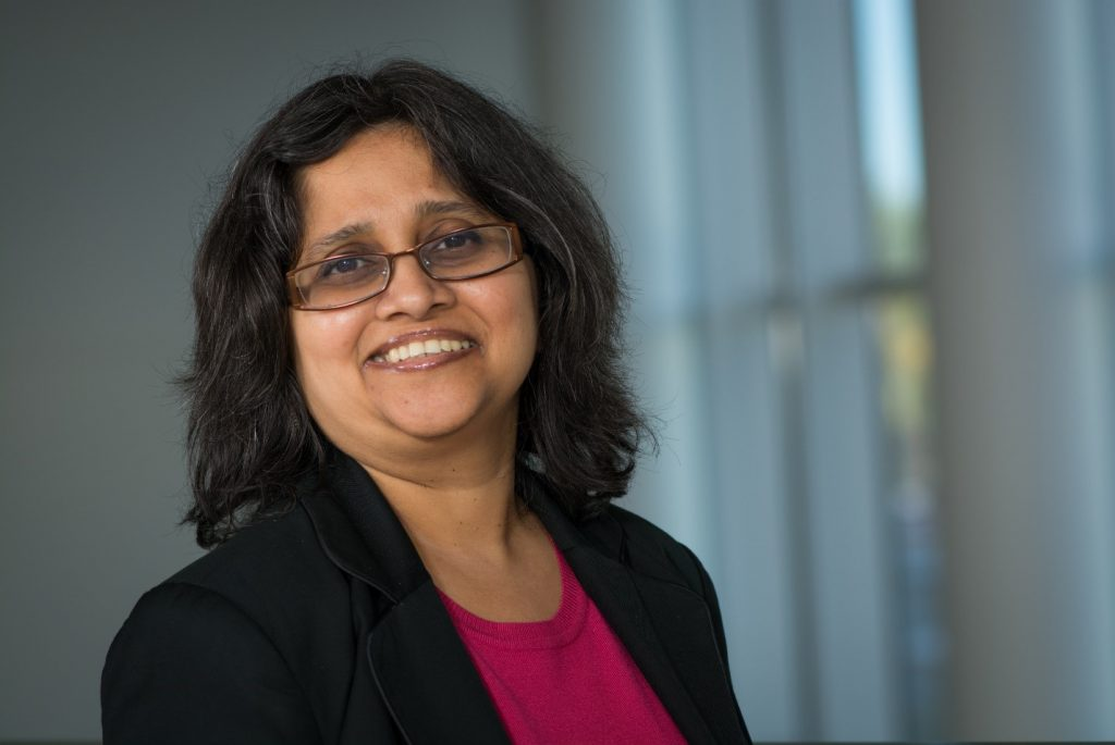 Cal State Fullerton Associate Professor of ISDS Sinjini Mitra, a researcher of biometrics and cybersecurity
