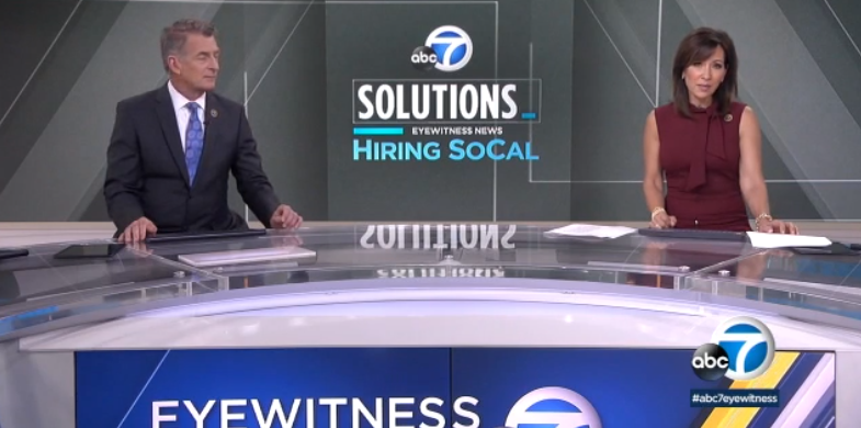 ABC 7 Eyewitness News discusses career tips from Cal State Fullerton's Career Center