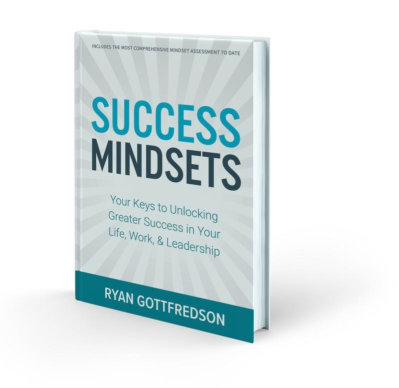 Cover of Ryan Gottfredson's bestselling book Success Mindsets