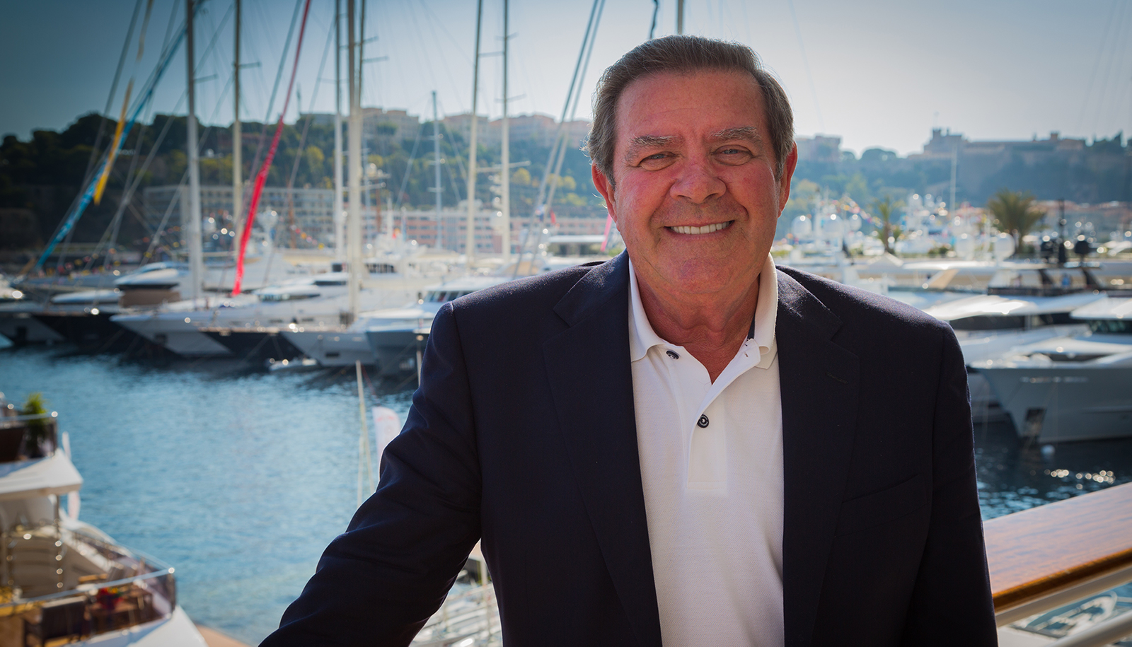 Terry Giles at the harbor